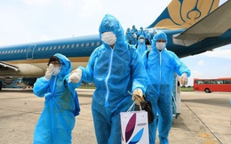 Tạm dừng các chuyến bay về Việt Nam từ Anh và Nam Phi