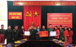 Hội LHPN tỉnh Thái Nguyên mang xuân về nơi biên cương
