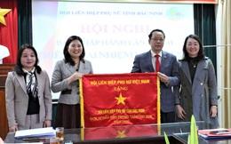 Hội LHPN tỉnh Bắc Ninh: nhận Cờ thi đua xuất sắc của Trung ương Hội