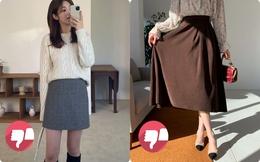 Tránh xa 3 kiểu chân váy nhàm chán để bản thân thoát cảnh đơn điệu trong Tết này