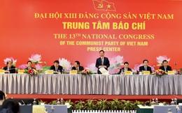 Nhiều thông tin cụ thể về Đại hội Đảng lần thứ XIII được cung cấp cho báo chí