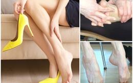 Bài tập giảm đau nhức chân cho những nàng phải đi giày cao gót cả ngày