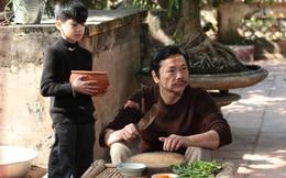 Mẫu nhí Minh Anh đóng phim Tết cùng NSND Trung Anh