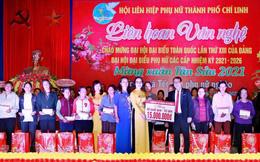 Phụ nữ Chí Linh trao 75 suất quà Tết cho phụ nữ nghèo