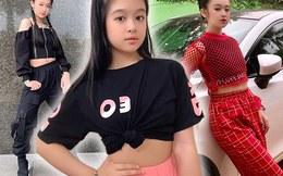 Bé gái Cần Thơ 12 tuổi chuyên đọ sắc Hoa hậu diện croptop ngắn