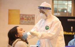 Giao hàng cho bệnh nhân 1694, một người phụ nữ ở huyện Mê Linh bị nhiễm Covid-19
