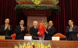 Đồng chí Nguyễn Phú Trọng tái đắc cử Tổng Bí thư Ban chấp hành Trung ương Đảng khóa XIII