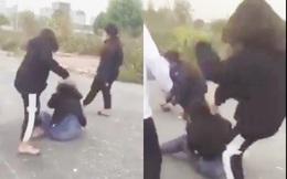 Hà Nội: Thiếu nữ bị đánh hội đồng không thương tiếc