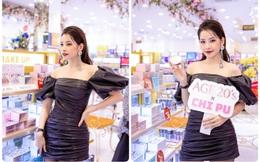 """""""Cháy"""" cùng Chi Pu tại buổi khai trương cửa hàng AB BEAUTY WORLD mới nhất"""
