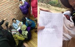 Bé trai bị bỏ rơi trước cổng chùa giữa trời đông giá rét: Hé lộ nội dung lá thư tay để lại