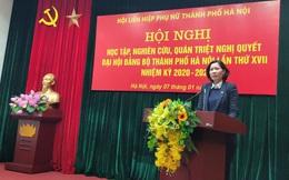 Các cấp Hội Hà Nội học tập, quán triệt nghị quyết Đại hội Đảng bộ thành phố