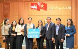 Chủ tịch Hội LHPNVN đề nghị Tỉnh ủy Quảng Nam đặc biệt quan tâm đến cán bộ nữ