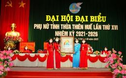 Bà Trần Thị Kim Loan tái đắc cử Chủ tịch Hội LHPN tỉnh Thừa Thiên Huế nhiệm kỳ 2021-2026