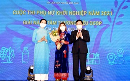 Lễ trao giải Cuộc thi Phụ nữ khởi nghiệp năm 2021 tôn vinh 24 dự án xuất sắc, tiêu biểu