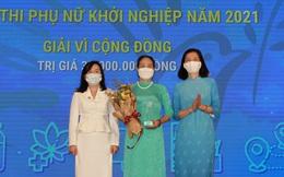 5 thành viên của TYM được vinh danh tại Lễ trao giải cuộc thi Phụ nữ khởi nghiệp năm 2021