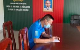 """Đăng tin """"Về Tuyên Quang không cần giấy tờ gì"""", thanh niên bị phạt 7,5 triệu đồng"""