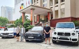 Chưa thể bán đấu giá lô xe sang trong đường dây đánh bạc nghìn tỷ ở Hà Nội