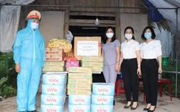 Hội LHPN tỉnh Yên Bái tiếp sức cho công dân trở về từ vùng dịch