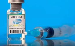 Lượng kháng thể giảm nhanh sau một thời gian tiêm vaccine Pfizer