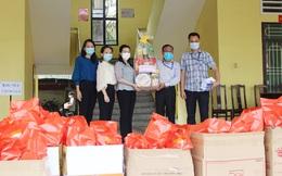 Hội LHPN tỉnh Bình Dương chúc Tết, tặng quà các nữ sinh viên đang cách ly tập trung