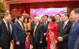 Tổng Bí thư, Chủ tịch nước Nguyễn Phú Trọng chúc Tết Đảng bộ, quân và dân Thủ đô