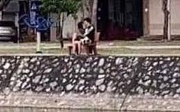 Hôn nhau trong công viên, đôi nam nữ bị xử phạt mỗi người 2 triệu đồng