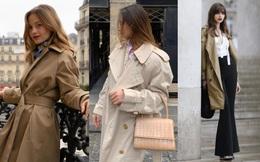 13 cách diện áo trench coat sang trọng của phụ nữ Pháp