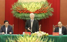 Gặp mặt các vị nguyên Ủy viên Bộ Chính trị, Ban Bí thư, Ủy viên TƯ Đảng khóa XII