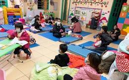 Se sắt lòng khi các con nhỏ ở Kinh Môn đi cách ly đúng dịp Tết