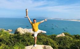Hành trình thiện nguyện trên đôi chân khuyết tật của chàng trai đất võ Bình Định