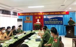 Quảng Ngãi: Tập huấn công tác tổ chức đại hội phụ nữ trong công an tỉnh