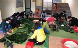 Hội LHPN Hải Dương gói 500 bánh chưng Tết tặng các khu cách ly
