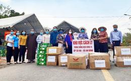 Hội LHPN tỉnh Bình Dương chúc Tết, tặng quà người dân trong khu phong tỏa