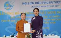 Trao quyết định nghỉ hưu của Ban Bí thư cho Phó Chủ tịch thường trực Hội LHPN Việt Nam