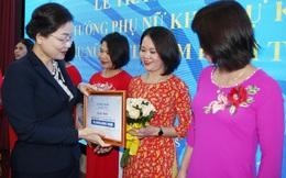"""Nghệ An: Trao giải cuộc thi """"Phụ nữ Việt tự tin làm kinh tế"""""""