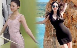"""Phát sốt với vòng eo của hai """"Công chúa Vpop"""": Bảo Thy đẹp mê, Amee mặc váy phải dùng chiêu"""