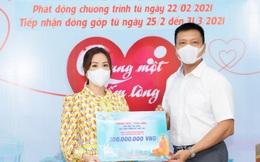 Hoa hậu Thu Hoài cùng dàn sao ủng hộ tiền mua vaccine Covid-19