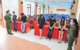 Hải Dương: Bắt quả tang 41 đối tượng sử dụng ma túy trong quán karaoke