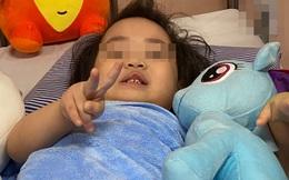 Sức khỏe bé rơi từ tầng 13 chung cư ở Hà Nội hiện ra sao?