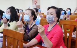 """Đại hội đại biểu Phụ nữ Hội LHPN phường 14, quận 10, TPHCM: """"Xây dựng gia đình 5 không, 5 có, 3 sạch"""""""