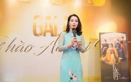 """Mai Thu Huyền cùng NTK Đỗ Trịnh Hoài Nam """"thắp lửa"""" tại Gala Tự hào Áo dài Việt"""
