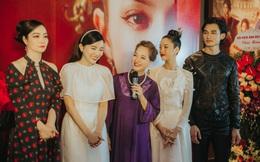 """Áo dài Đỗ Trịnh Hoài Nam lộng lẫy cùng ê kíp phim """"Kiều"""""""