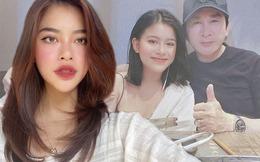 Quay clip cùng bố, con gái Kim Tử Long được chú ý