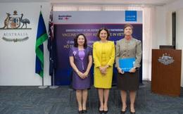 Gói hỗ trợ 13,5 triệu đô la Úc về phân phối vaccine Covid-19 tại Việt Nam