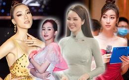 Khi Hoa hậu làm MC - BTV: Người đổi style 180 độ, người quanh năm một kiểu chẳng chán mắt
