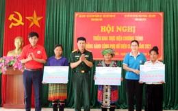 Phụ nữ Hưng Yên hỗ trợ phụ nữ nghèo tỉnh Điện Biên tổng trị giá hơn 200 triệu đồng