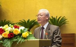 Quốc hội thông qua Nghị quyết miễn nhiệm chức danh Chủ tịch nước đối với ông Nguyễn Phú Trọng