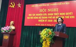Hội LHPN Hà Nội: Gắn thực hiện Nghị quyết  với yêu cầu vận động phụ nữ