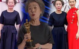 Bà ngoại quốc dân 73 tuổi đoạt tượng vàng Oscar, diện đầm tối màu vẫn tỏa sáng
