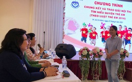 TP. Hồ Chí Minh: Trao giải Hội thi tìm hiểu quyền của trẻ em